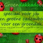 Groendakkadobon