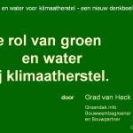Waterbuffering: meer onderzoek.