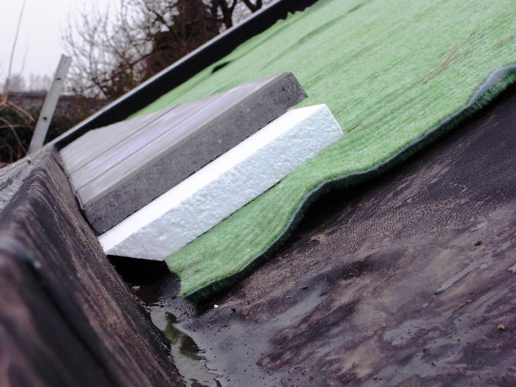 Hoe geert bedacht hoe het dak zelf te maken en wat fout ging groendak - Een verwijderbare partitie maken ...