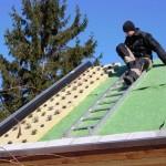Hoe Geert bedacht hoe het dak zelf te maken en wat fout ging.