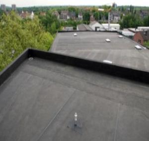 Een dakbedekking met unieke eigenschappen epdm groendak for Epdm rubberfolie vijver