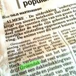 De Telegraaf / Woonkrant over ons.