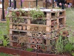 Pallets? maak een verticale tuin! groendak
