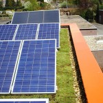 Betaalbaar energiedak met zonnepanelen.