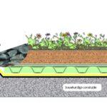 Randafwerking en vegetatievrije zone